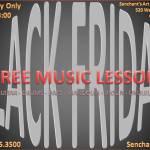 BLACK FRIDAY MUSIC