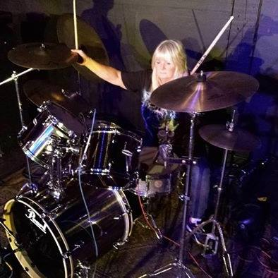 Drum teacher Janie MacAuslan
